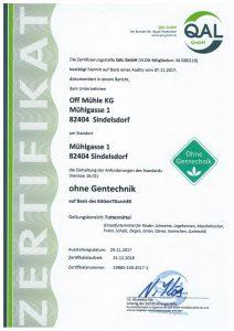 VLOG Zertifikat 2018